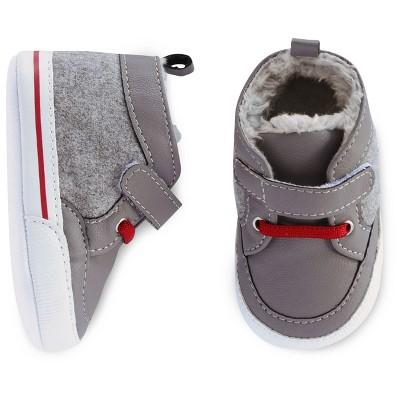 Baby Boys' 3/4 Sneaker Cat & Jack™ - Grey 3-6M