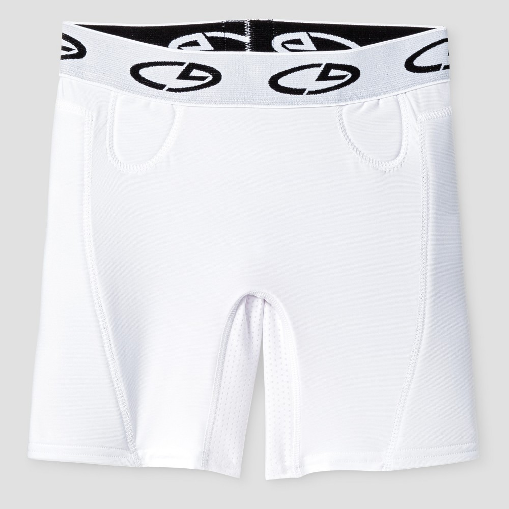 Girls Softball Slider Shorts - C9 Champion White S