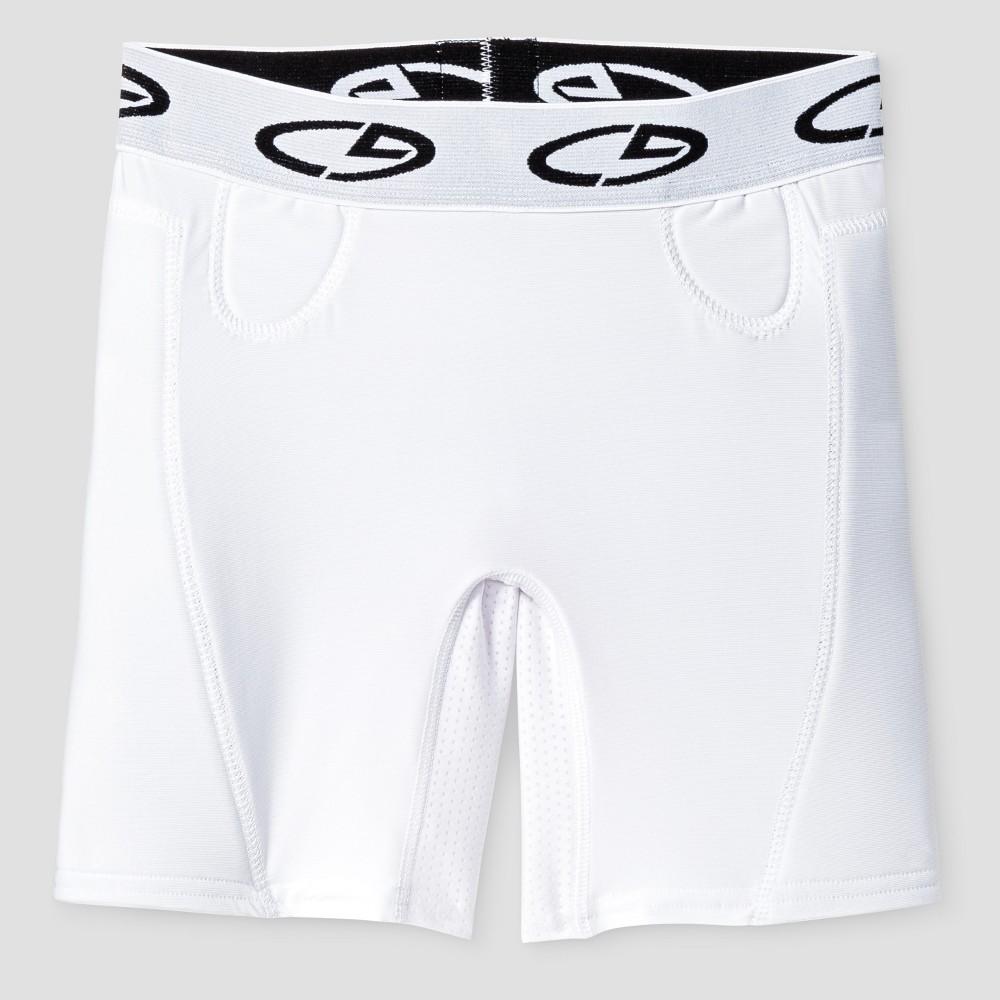 Girls Softball Slider Shorts - C9 Champion White M