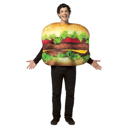 Men's Cheeseburger Adult Costume - One Size Fits Most - image 1 of 1