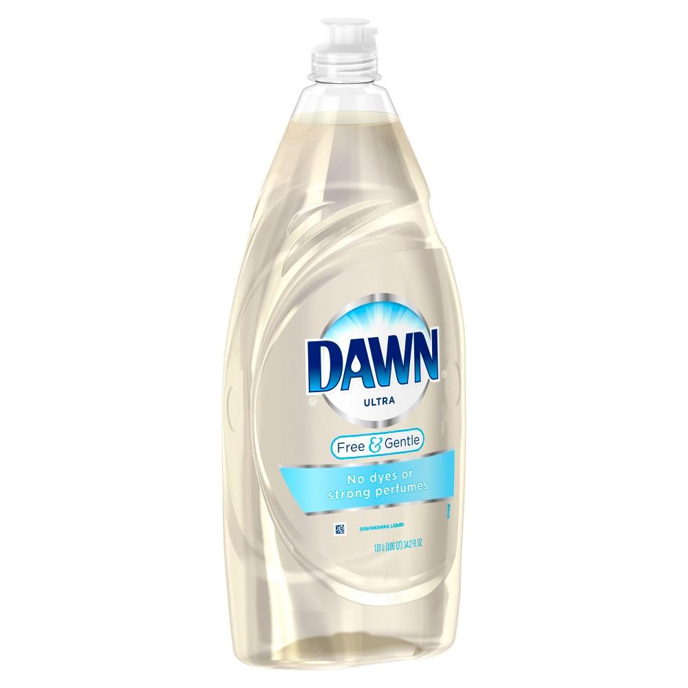 Dish Soap: Dawn Free & Gentle