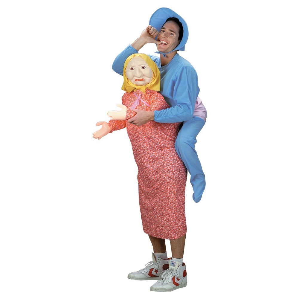 But Mommy- I Dont Want To Grow Up Adult Costume - X-Large, Mens, Size: XL, Blue