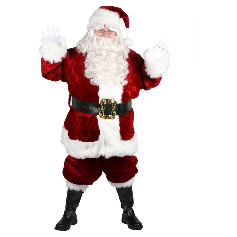 Men's Majestic Santa Suit Plus Size Costume XX-Large,  Size: X  Red plus size,  plus size fashion plus size appare