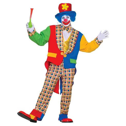 Clown on The Town Adult Costume - One Size Fits Most - image 1 of 1