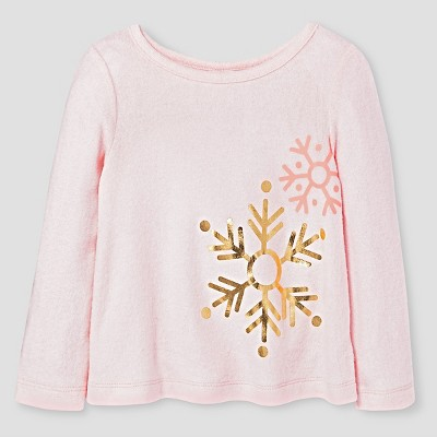 Baby Girls' T-Shirt Cat & Jack™ - Parlor Pink 12M