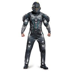 Men's Halo Spartan Locke Muscle Adult Costume X-Large