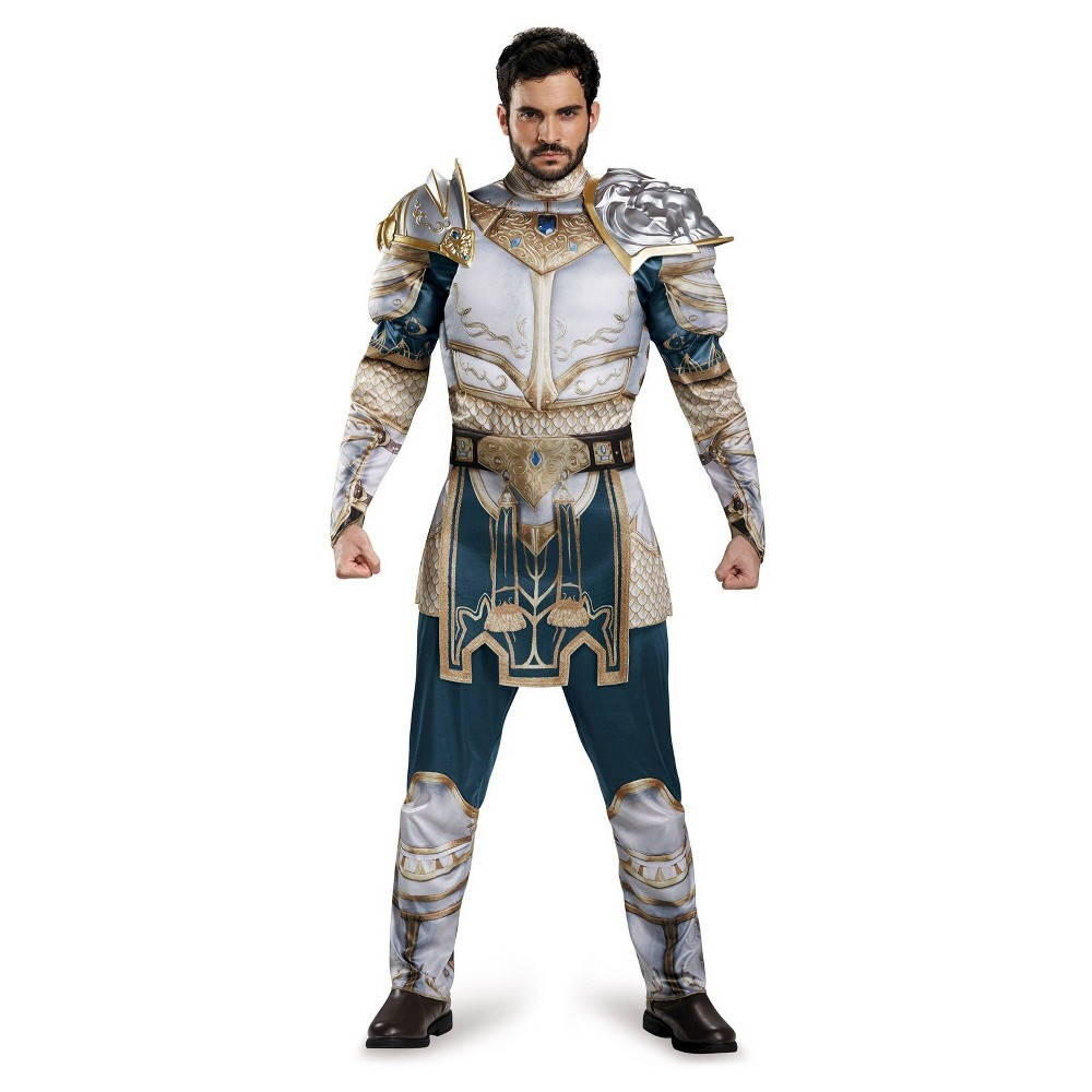 Warcraft King Llane Mens Classic Muscle Adult Costume X-Large, Size: XL, Multi-Colored