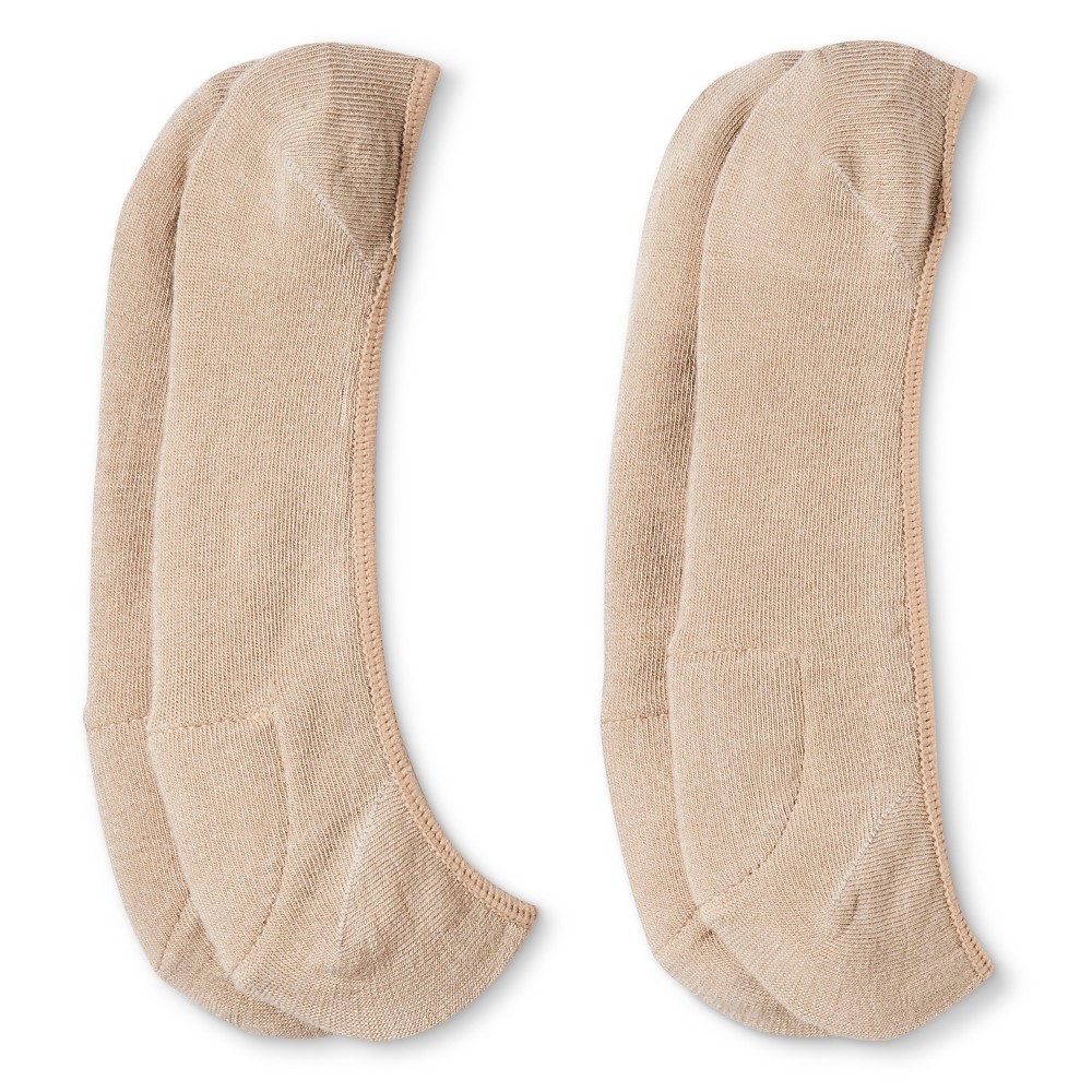 Legale Womens 2 Pack Pillow Pod Liner - Beige One Size, Beige Nude