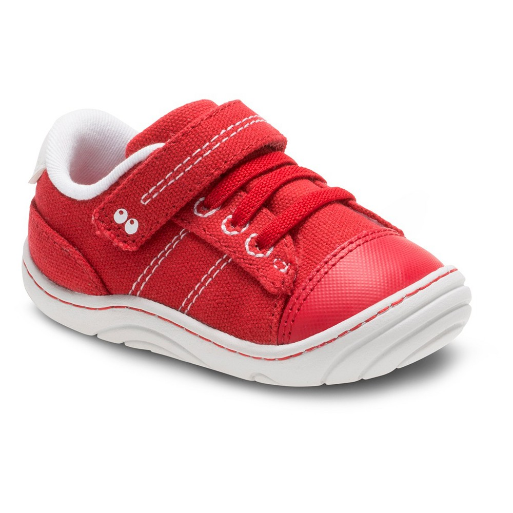 Baby Boys Surprize by Stride Rite Hilbert Sneakers - Red 4