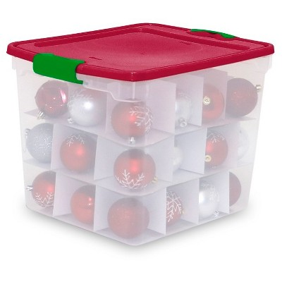 Homz® Multi-Layer Ornament Box