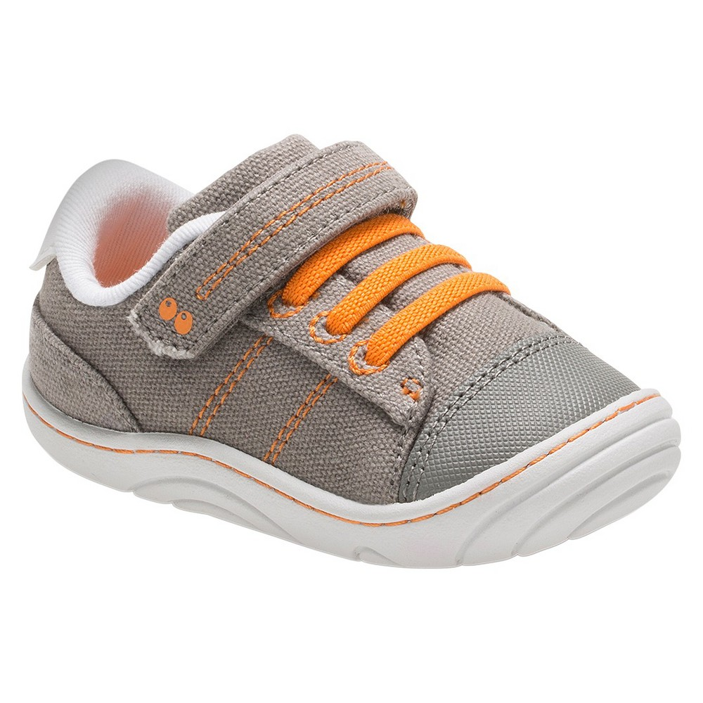 Baby Boys Surprize by Stride Rite Hilbert Sneakers - Gray 4