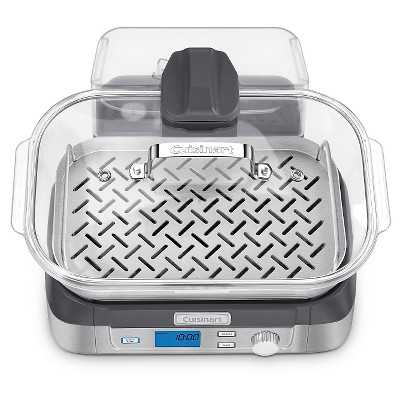 Cuisinart STM 1000 CookFresh Digital Glass Steamer Stainless Steel