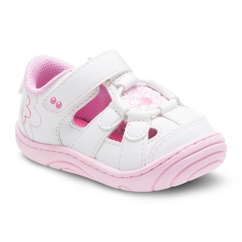 Baby Girls' Surprize by Stride Rite® Alexia Fisherman Sandals - White - image 1 of 4