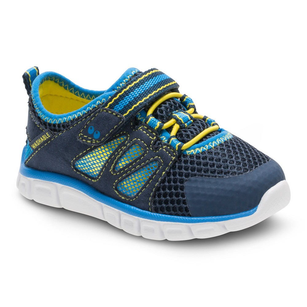 Toddler Boys' Surprize by Stride Rite Demonte Sneakers - Blue 6, Blue Yellow