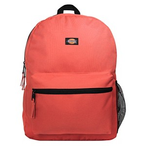 Dickies 17 Solid Student Backpack - Neon Coral
