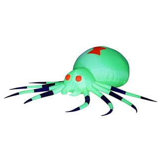 halloween giant spider airblown - Halloween Inflatables Clearance