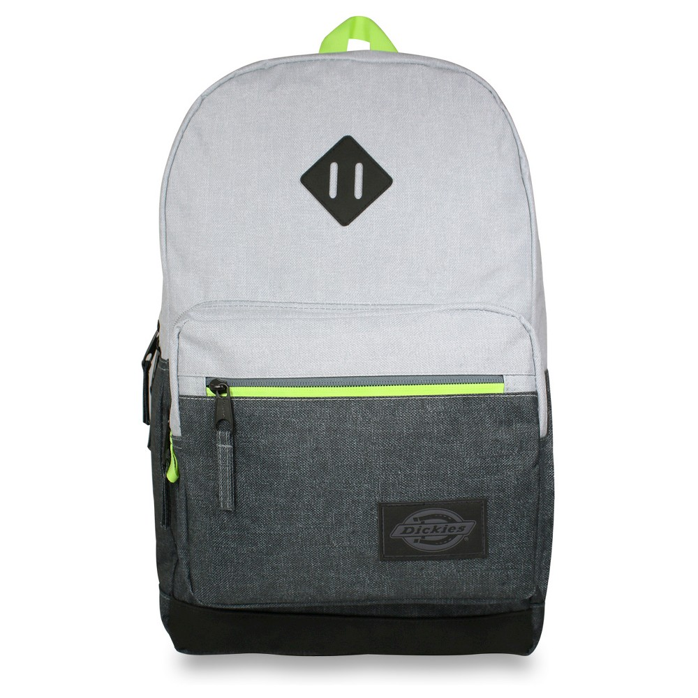 Dickies 17.5 Study Hall Backpack - Heather Gray/Charcoal, Charcoal Heather