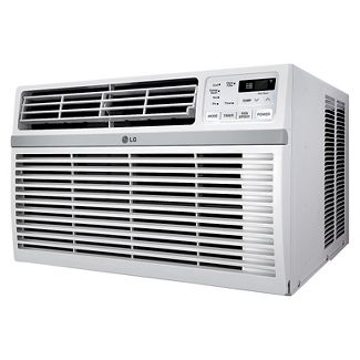 LG LW8016ER 8,000 BTU 115V Window-Mounted Air Conditioner with Remote Control