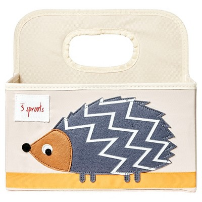3 Sprouts Diaper Caddy - Hedgehog
