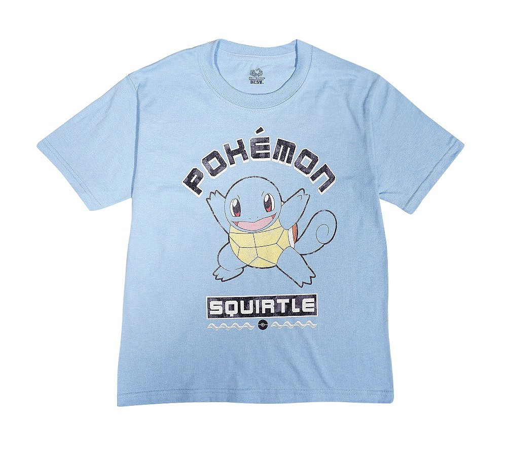 Boys' Pokémon Squirtle T-Shirt - Light Blue S