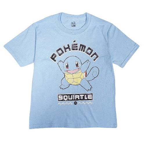 Boys' Pokémon Squirtle T-Shirt - Light Blue M, Boy's