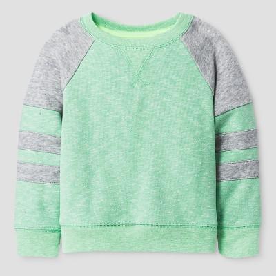Baby Boys' Sweatshirt - Cat & Jack™ Heather Island Green 18M