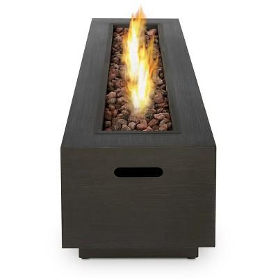 Real Flame Lanesboro Rectangle Propane Fire Pit