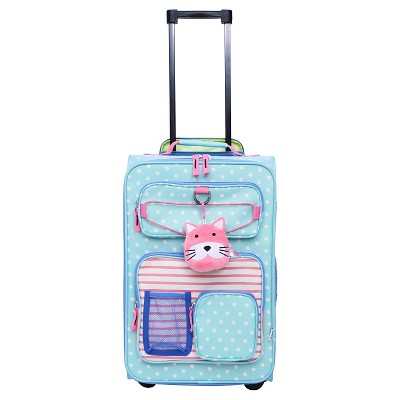 Crckt 18  Kids Carry On Luggage - Blue Dot