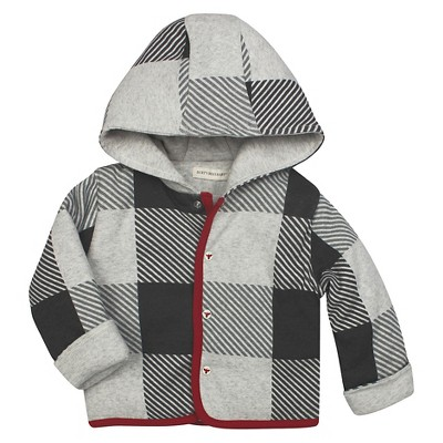 Snap Front Hooded Reversible Jacket Multi 3-6M - Burt's Bees Baby™