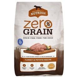 Rachael Ray Nutrish Zero Grain Natural Dry Dog Food  Turkey & Potato Recipe