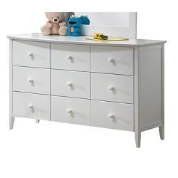 San Marino Kids 6-Drawer Dresser - White - Acme