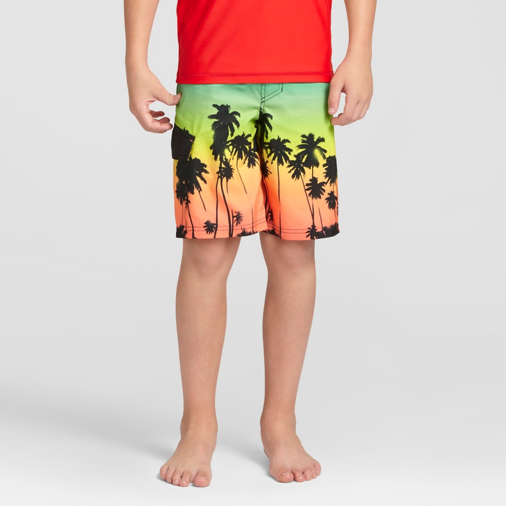 Boys Swim Trunks - Cat & Jack Turquoise Gem - L, Blue