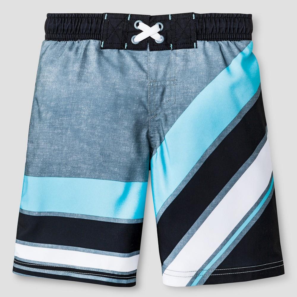 Boys SwimTrunks - Cat & Jack Fantastic Aqua - XL, Size: XS, Blue