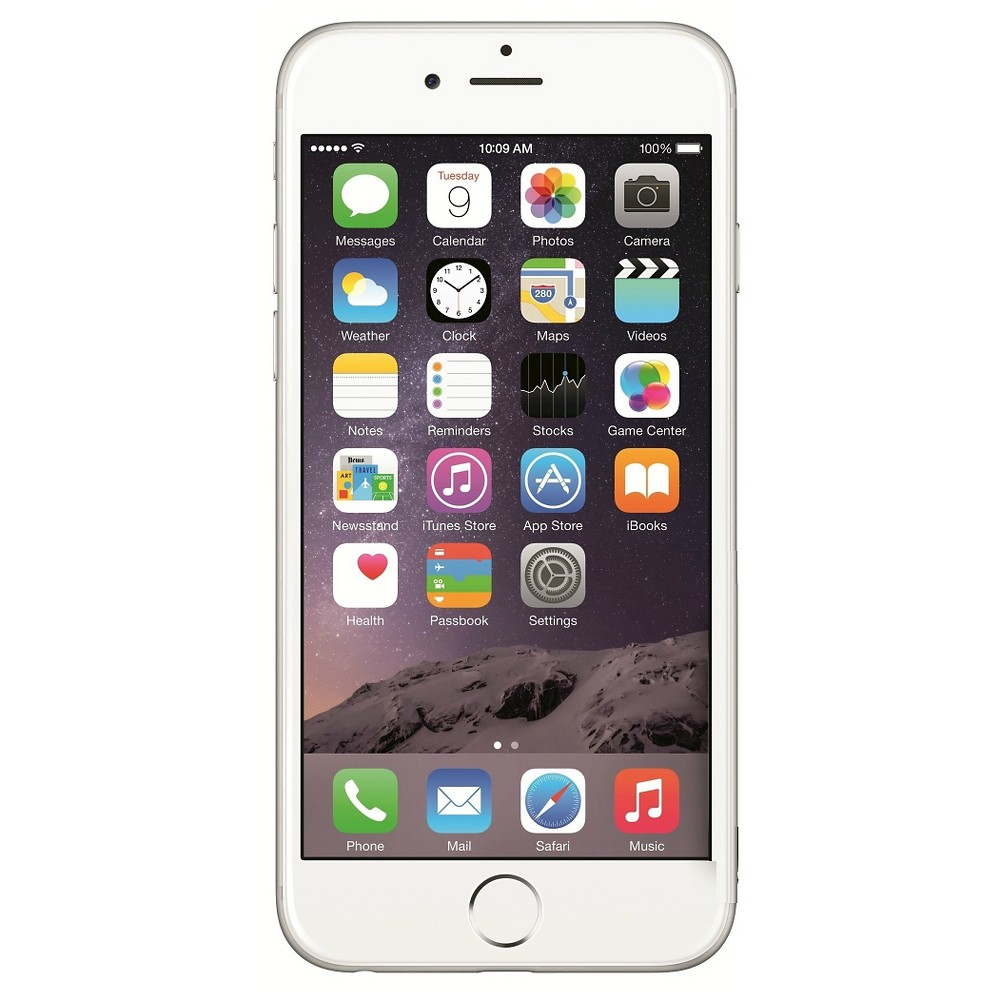 Apple Unlocked iPhone 6 16GB Silver - Certified Pre-Owned