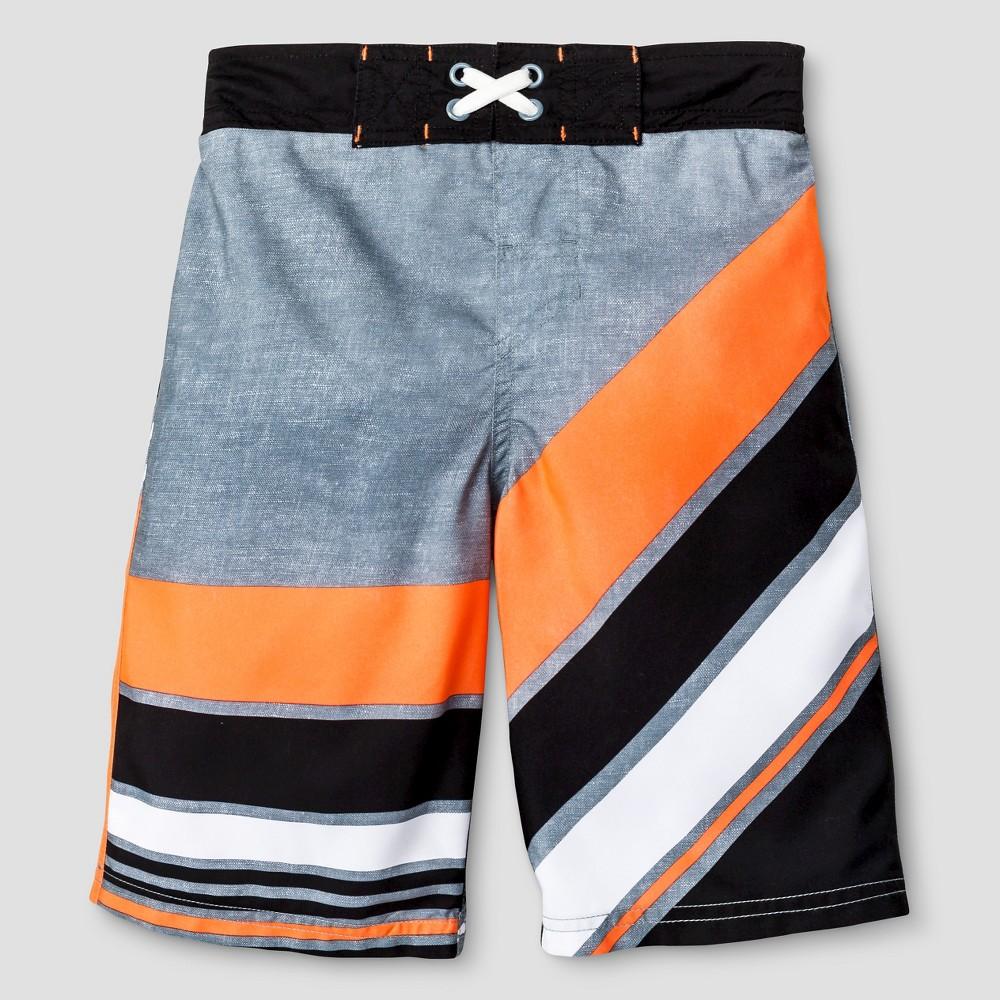 Boys SwimTrunks - Cat & Jack Summer Orange XS