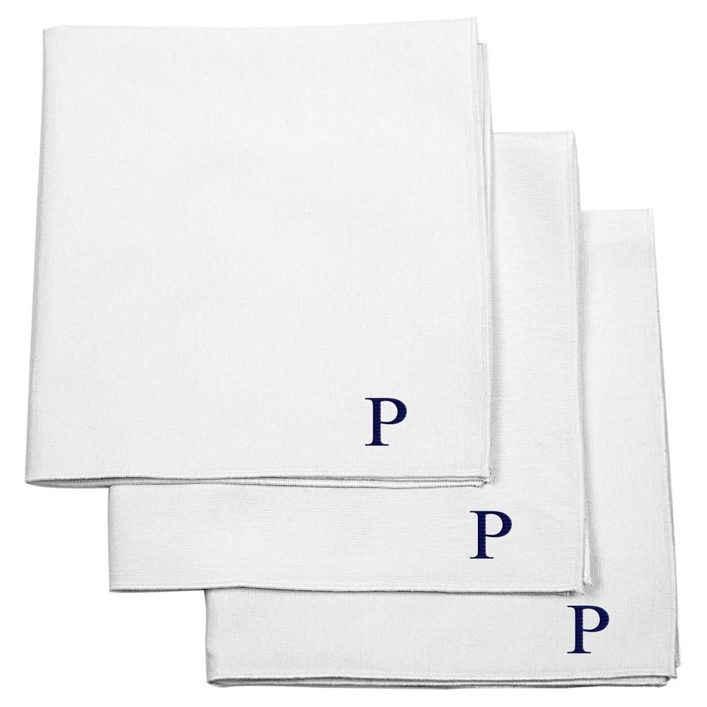 Cathy's Concepts Monogram Groomsmen Gift Handkerchief Set...