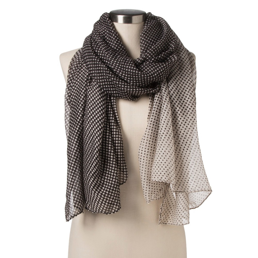 Womens Fashion Oblong Scarf Brown - Sylvia Alexander