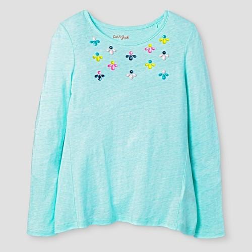Girls' Tunic T-Shirt Cat & Jack - Green S, Girl's