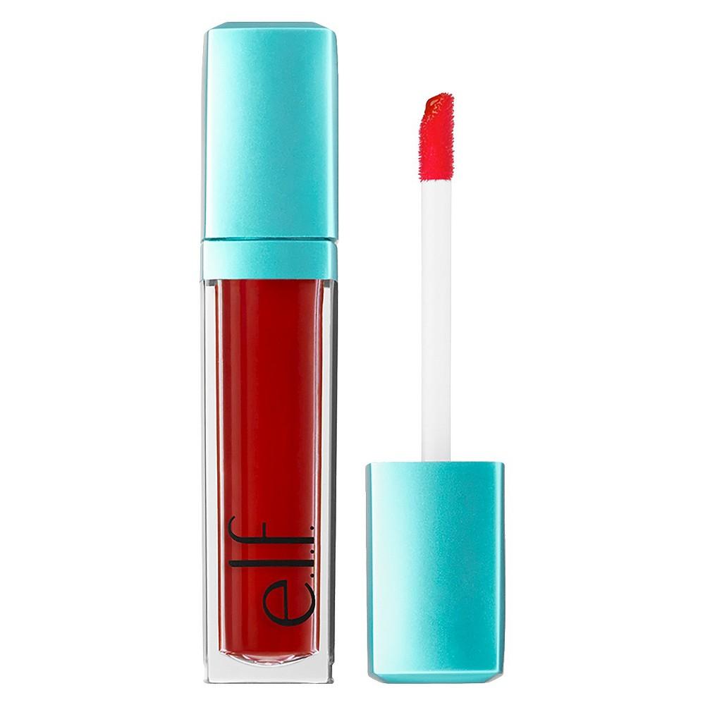 e.l.f. Aqua Beauty Radiant Gel Lip Stain Red Orange Wash - .20 fl oz