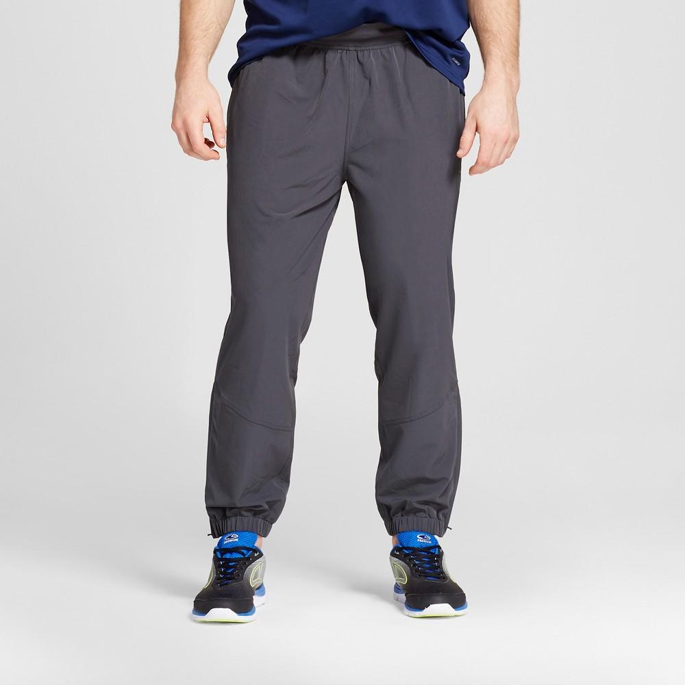Mens Big & Tall Premium Stretch Woven Pants - C9 Champion Railroad Gray M x 34, Size: M Tall