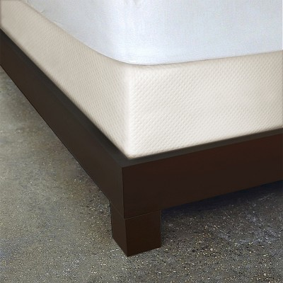 Ivory Diamond Matelassé Box Spring Cover Bed Skirt (King)- Dreamspace®