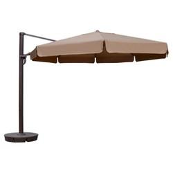 Island Umbrella Victoria 13' Cantilever Sunbrella with Valance