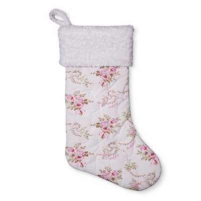 Heirloom Floral Christmas Stocking - Simply Shabby Chic®