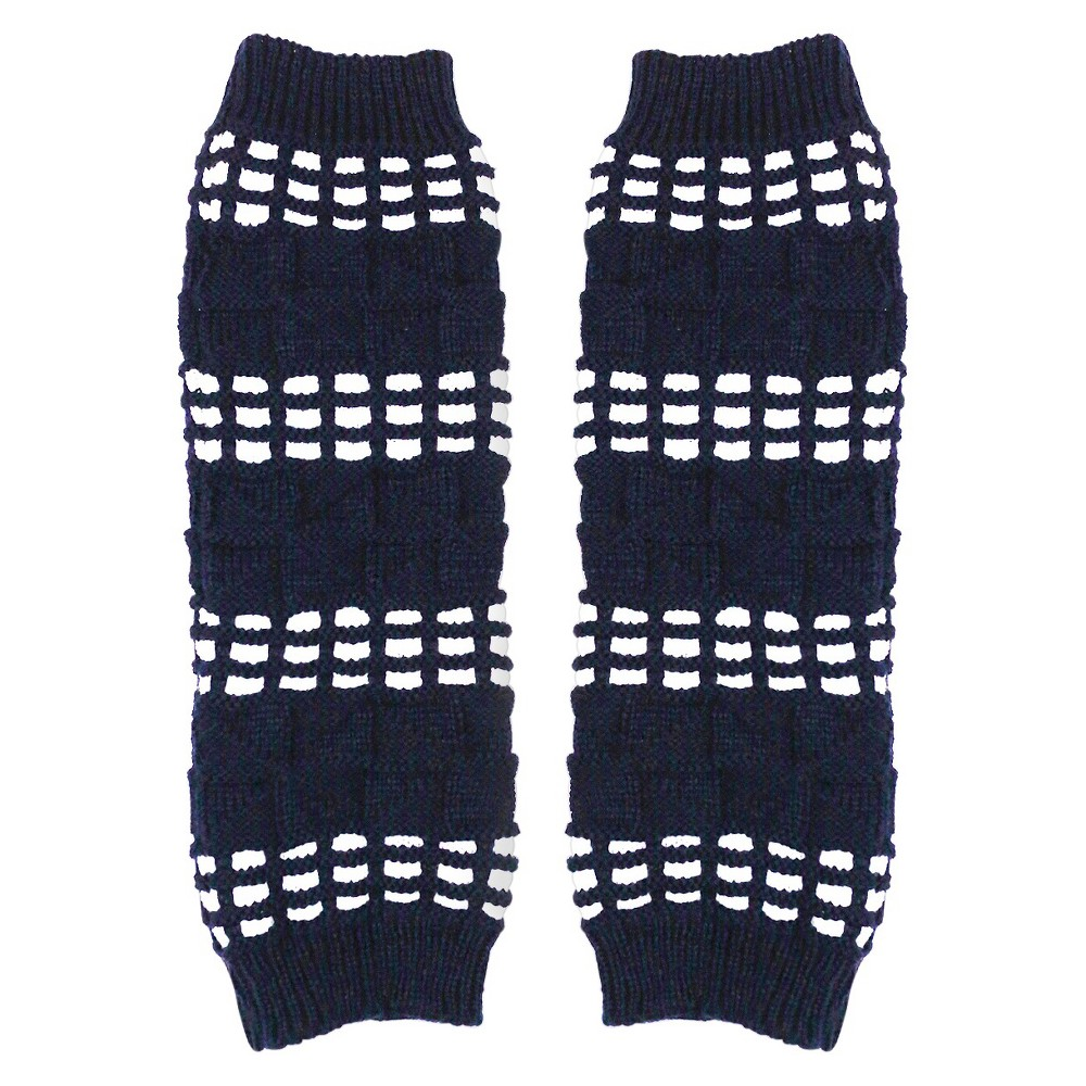 Womens Sylvia Alexander Leg Warmers - Navy (Blue) One Size