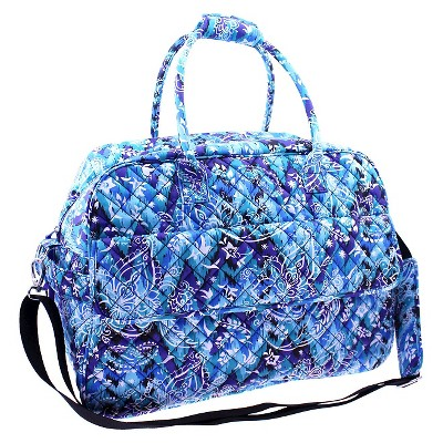 Danielle Morgan Quilted Weekender Duffle Bag