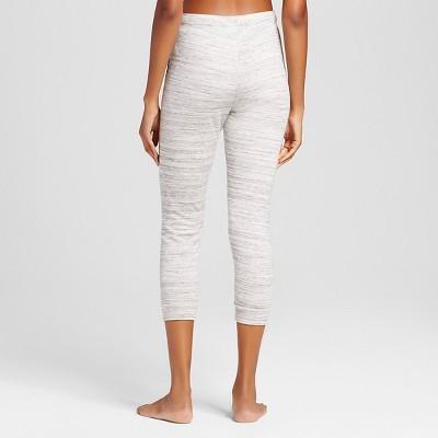 Women's Flip Waist LA Jogger Crop Grey XL-Inspired Hearts(Juniors'), Size: XL, Gray