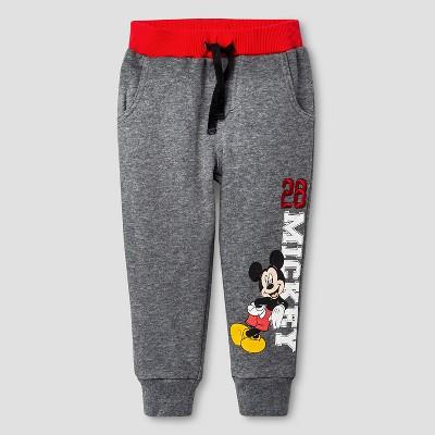 Disney® Baby Boys' Mickey Mouse Jogger Pant - Dark Gray 12M