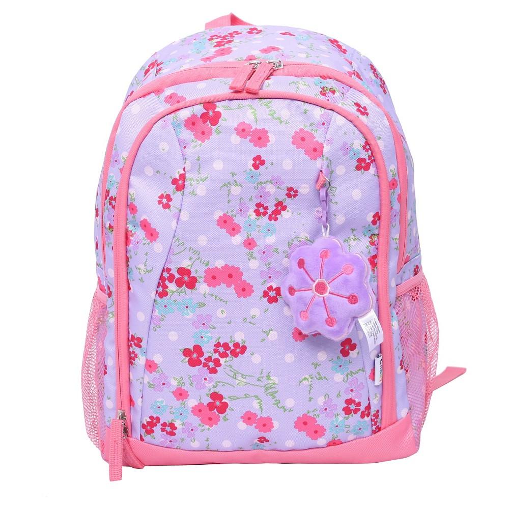 Crckt 15 Kids' Backpack - Pink/Purple Floral