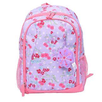 Crckt 15u0022 Kids Backpack - Pink/Purple Floral