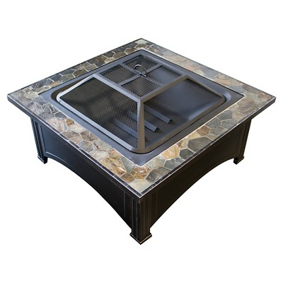 AZ Patio Heaters® Slated Top Fire Pit